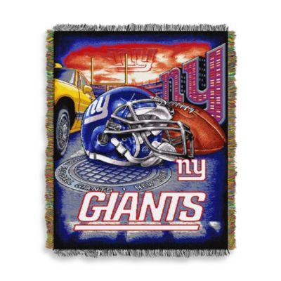 NFL New York Giants Tapestry Throw