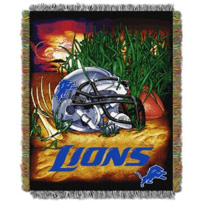 NFL Detroit Lions Tapestry Throw