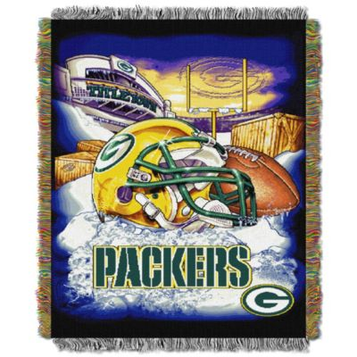 NFL Green Bay Packers Tapestry Throw