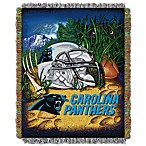 NFL Carolina Panthers Tapestry Throw