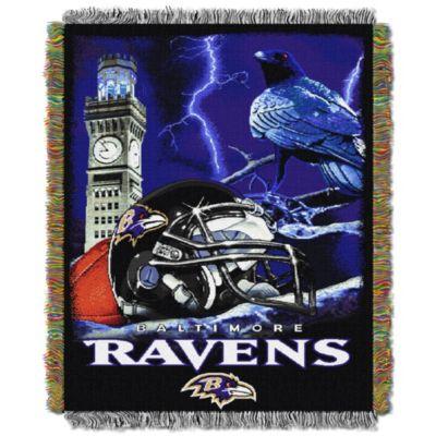 NFL Baltimore Ravens Tapestry Throw