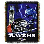 NFL Baltimore Ravens Tapestry Throw