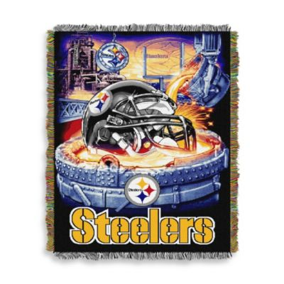 NFL Pittsburgh Steelers Tapestry Throw