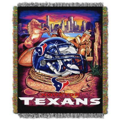 NFL Houston Texans Tapestry Throw