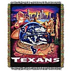 NFL Houston Texans Tapestry Throw