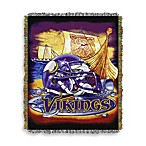 NFL Minnesota Vikings Tapestry Throw