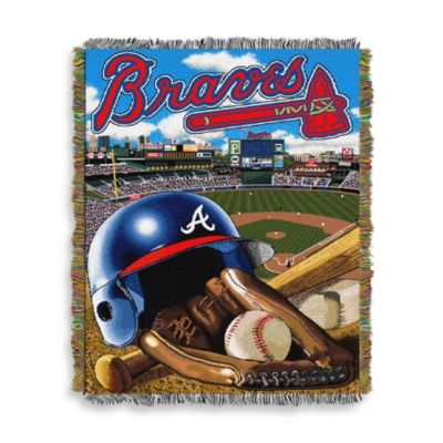 MLB Atlanta Braves Tapestry Throw
