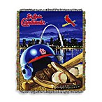 MLB St. Louis Cardinals Tapestry Throw