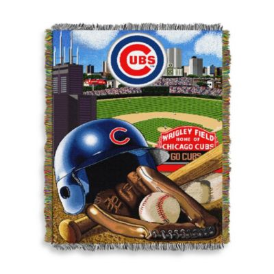 MLB Chicago Cubs Tapestry Throw