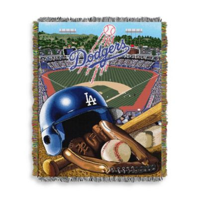 MLB Los Angeles Dodgers Tapestry Throw