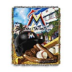 MLB Miami Marlins Tapestry Throw