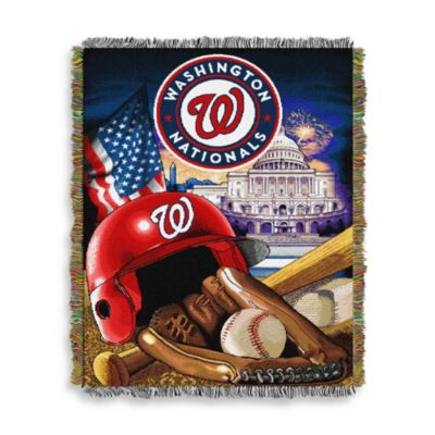 MLB Washington Nationals Tapestry Throw