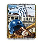 MLB New York Yankees Tapestry Throw
