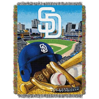 MLB San Diego Padres Tapestry Throw