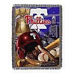 MLB Philadelphia Phillies Tapestry Throw