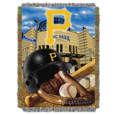 MLB Pittsburgh Pirates Tapestry Throw