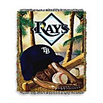 MLB Tampa Bay Rays Tapestry Throw