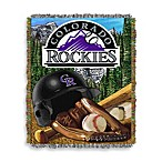 MLB Colorado Rockies Tapestry Throw