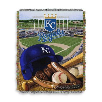MLB Kansas City Royals Tapestry Throw