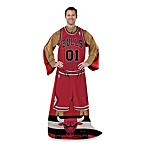 NBA Chicago Bulls Uniform Comfy Throw