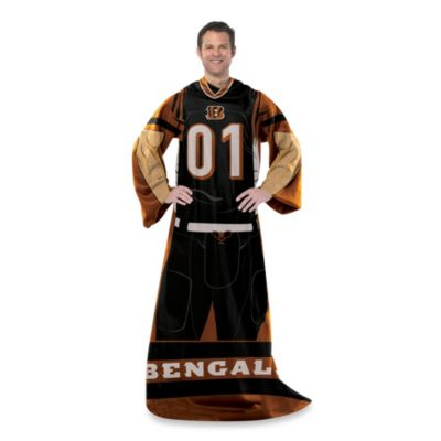 NFL Cincinnati Bengals Uniform Comfy Throw