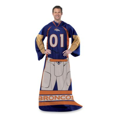 NFL Denver Broncos Uniform Comfy Throw