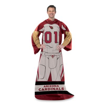 NFL Arizona Cardinals Uniform Comfy Throw