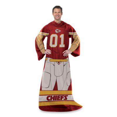 NFL Kansas City Chiefs Uniform Comfy Throw