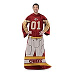 NFL Kansas City Chiefs Uniform Comfy Throw
