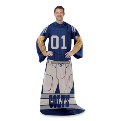 NFL Indianapolis Colts Uniform Comfy Throw