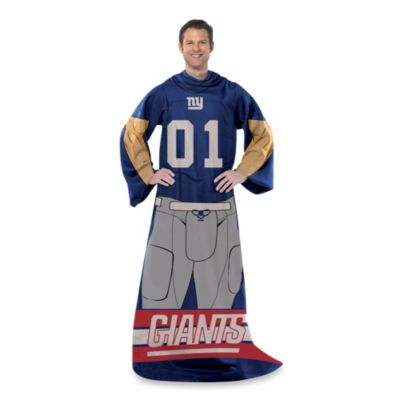 NFL New York Giants Uniform Comfy Throw