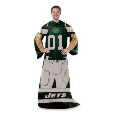 NFL New York Jets Uniform Comfy Throw