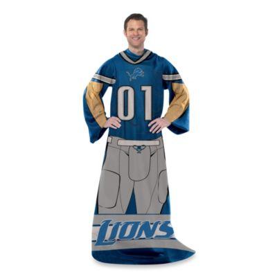 NFL Detroit Lions Uniform Comfy Throw