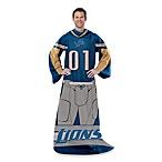NFL Detroit Lions Uniform Comfy Throw