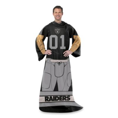 NFL Oakland Raiders Uniform Comfy Throw