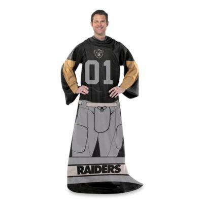 NFL Oakland Raiders Uniform Comfy Throw
