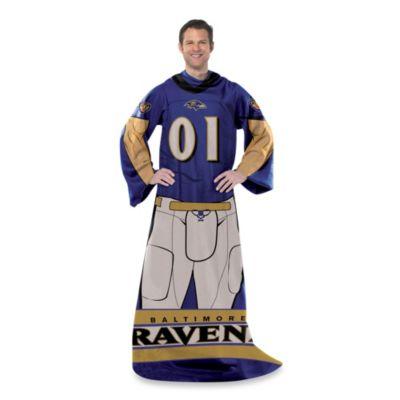 NFL Balitmore Ravens Uniform Comfy Throw