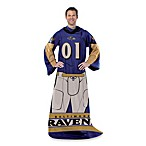 NFL Balitmore Ravens Uniform Comfy Throw
