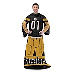 NFL Pittsburgh Steelers Uniform Comfy Throw