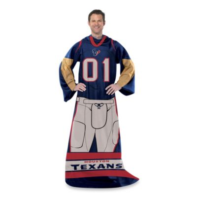 NFL Houston Texans Uniform Comfy Throw