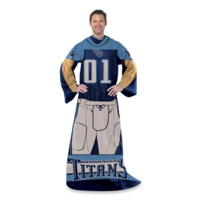 NFL Tennessee Titans Uniform Comfy Throw