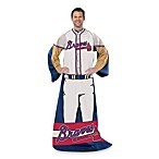 MLB Atlanta Braves Uniform Comfy Throw