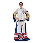 MLB Chicago Cubs Uniform Comfy Throw