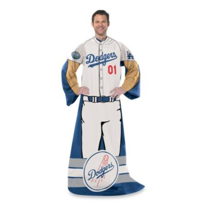 MLB Los Angeles Dodgers Uniform Comfy Throw