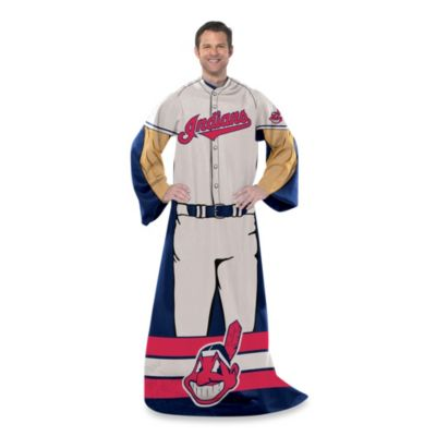 MLB Cleveland Indians Uniform Comfy Throw