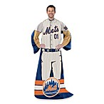 MLB New York Mets Uniform Comfy Throw
