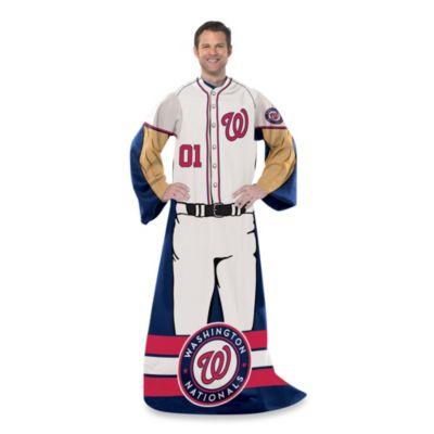 MLB Washington Nationals Uniform Comfy Throw
