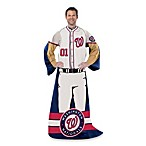 MLB Washington Nationals Uniform Comfy Throw