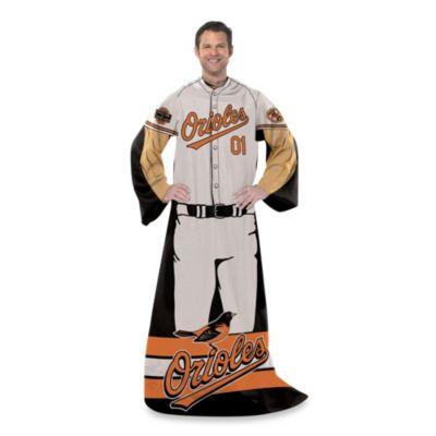 MLB Baltimore Orioles Uniform Comfy Throw