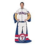 MLB Texas Rangers Uniform Comfy Throw